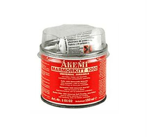 Details About Akemi Epoxy Resin Travertine Marble Granite Tile Hole Filler Repair Kit Cream
