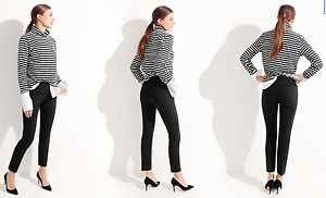 J.CREW RYDER SKIMMER Plaid WOOL CITY FIT Suit SLIM Crop Trouser PANTS 8