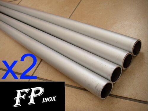 Tube Aluminium 30mm Epaisseur 1mm Longueur 1 mètre Lot de 2