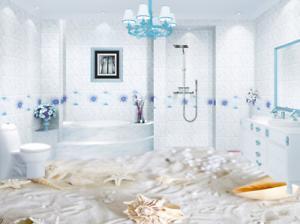 3D White Sandy 532 Floor WallPaper Murals Wall Print 5D AJ WALLPAPER UK Lemon