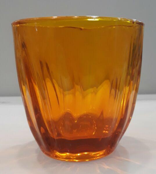 1cf Da 6 Pz Bicchieri Vetro Guzzini Arancio Aqua Tavola Famoso Per Materiali Selezionati, Disegni Innovativi, Colori Deliziosi E Lavorazione Squisita