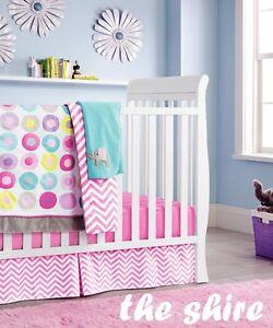 Baby Bedding Crib Cot Quilt Sheet Set-NEW 9pcs Quilt Bumper Sheet Dust Ruffle.. 9369998211029