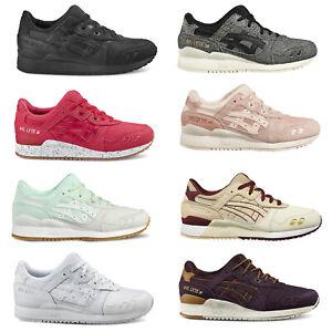 Asics Tiger Gel-Lyte III 3 Baskets Femmes Chaussures Décontractés Espadrilles