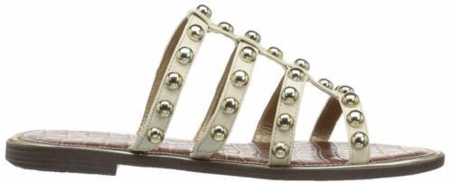 Sam Edelman Glenn Ivory Leather Sandals Size 8.5 M