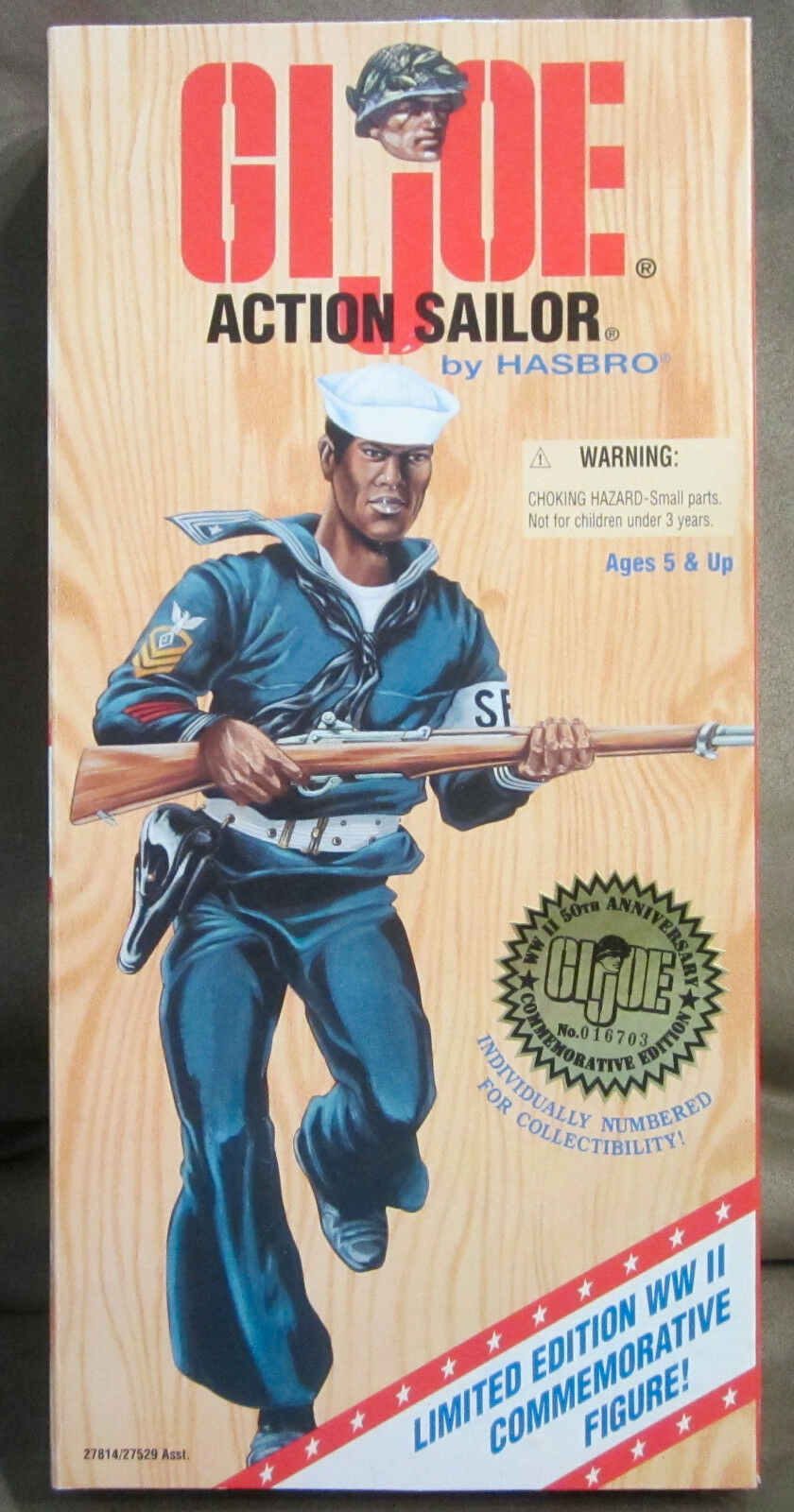 G.I. Joe African American Action Sailor World War II Commemorative 12