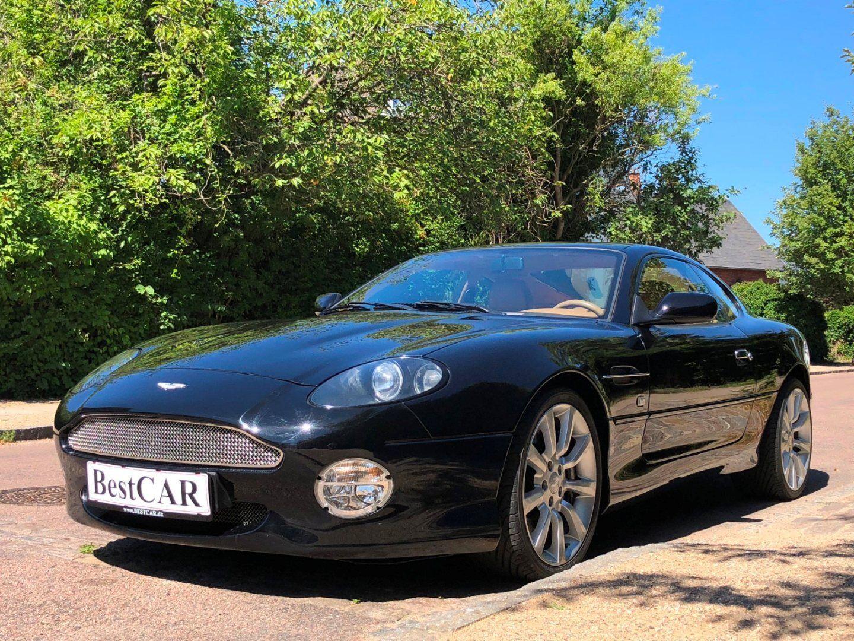 Aston Martin DB7 6,0 Coupé Vantage aut. 2d