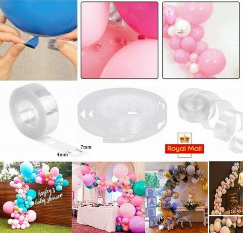 5M Balloon Arch Connectors Party Wedding Prom Decor Holiday Festival Supplies