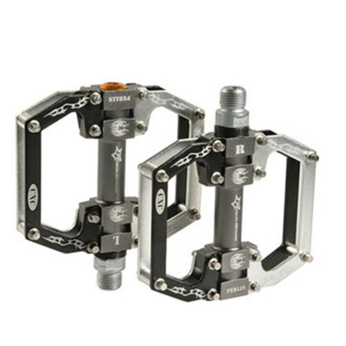"RockBros MTB Flat Bike Pedals Aluminum Alloy Platform Sealed Bearing Axle 9//16/"""