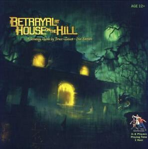 Betrayal-At-House-On-The-Hill-2nd-Edition-Board-Game-Avalon-Hill-Bruce-Glassco