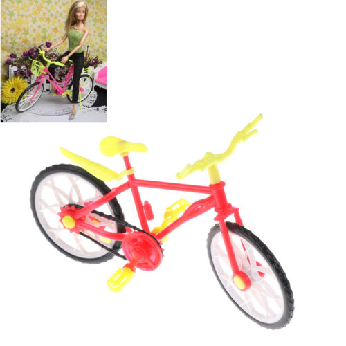 Fashion  Doll Bike Accessories Toy Play House Plastic Bicycle BSCA