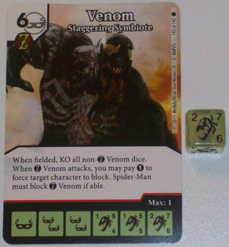 Venom Spiele Staffelung Symbiote 142 The Amazing Spiderman Würfel Master Super Selten