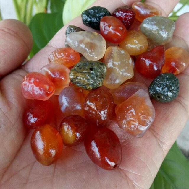 Bonsai Suiseki G#266 Free-form Stone Mongolian Agate Natural Specimen Wholesale Lot of Raw Gobi Desert Agates