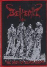BEHERIT - The Oath Of Black Blood - Woven Patch / Aufnäher