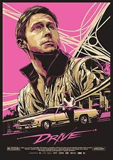 movie film repro Drive gosling Poster Print A3 more in stock This A Poster