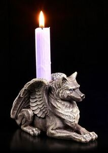 Fantasie-Chandelier-Loup-Gargouille-Figurine-Demon-Chandelier