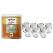 Moulinex Jogurtgläser-Set 7x mit Schraubverschluss für Yogurta u. Yogurteo