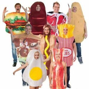 Gli adulti BISTECCA CIBO Costume-Costume Adulto Vestito Divertente Addio al Celibato Notte da Uomo DRINK
