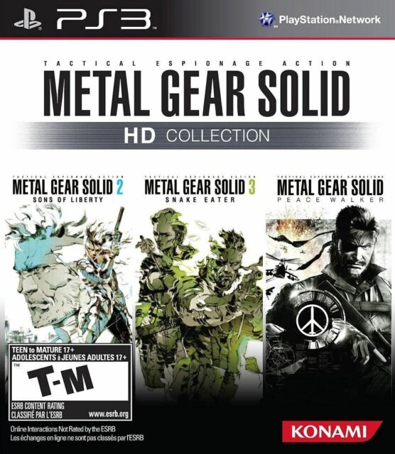 Metal Gear Solid HD Collection PS3 Jeu