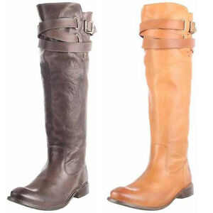 Frye-W-SHIRLEY-STRAPPY-Boots-Stiefel-Schuhe-Damen-Leder-braun-Women-NEU