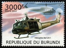 BELL UH-1 Iroquois (Huey) Military / Army Helicopter Aircraft Stamp