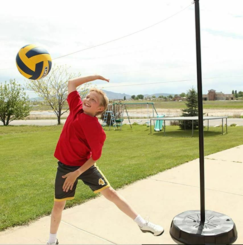 Image 1 - Lifetime Portable Tetherball System, Heavy-Duty base Weather and rust-resistant