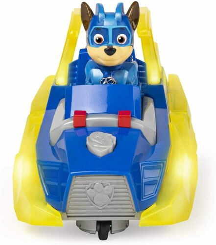 PAW Patrol Mighty Pups CHARGED UP-Chase Veicolo deluxe