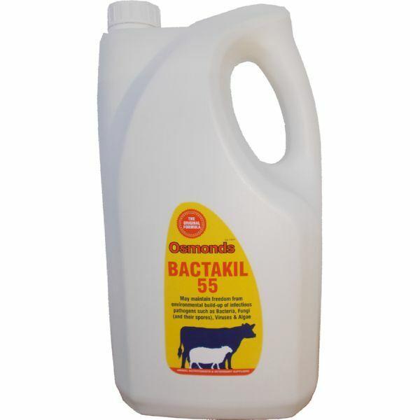 OSMONDS BACTAKIL 55 - 5 LT REFILL - freedom from bacteria, fungi and algae
