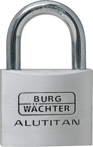 6 x Burg Wächter Zylinderschlösser Alutitan 770//40 Gleichschliessend K2