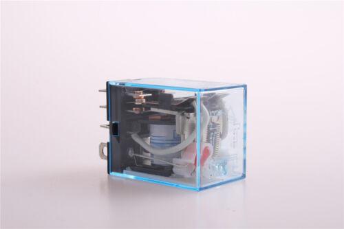 Power Relay DPDTNew LY2N-J Red LED 6V AC Coil 8Pin JQX-13F 2Z HH62P D