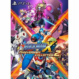 Rockman-X-Anniversary-Collection-2-SONY-PS4-PLAYSTATION-4-JAPANESE-VERSION