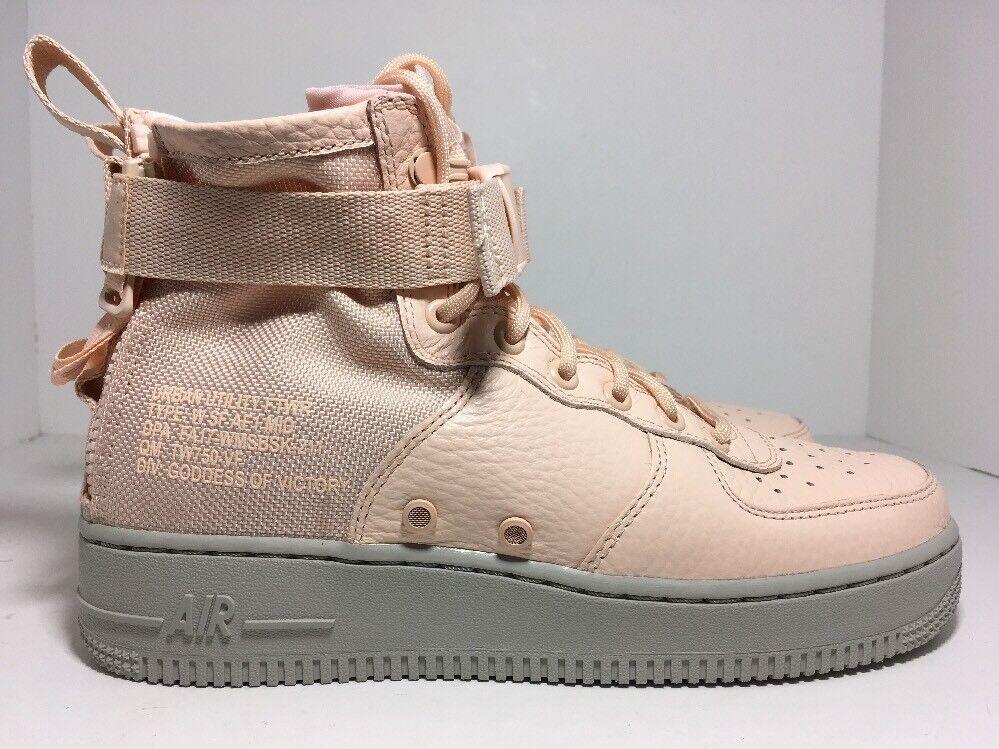 Nike SF AF1 Mid Special Field Orange Quartz AA3966-800 Women's Shoes Size 8.5