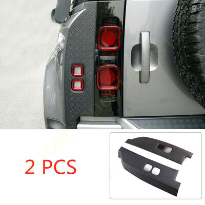 Black Rear Tail Light Lamp Panel Protect Cover For Land ...