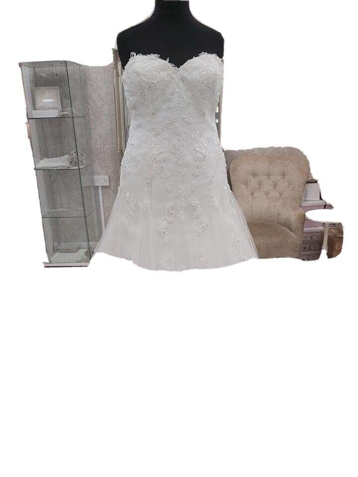 Romantics Of Devon wedding dress size 18