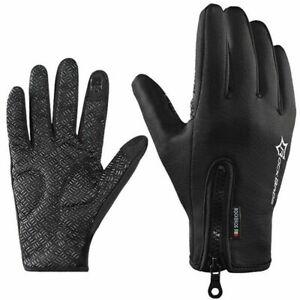 ROCKBROS Motorrad Handschuhe FahrradHandschuhe Winter Touchscreen Wasserdicht