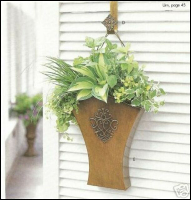 Southern Living at HOME WILLOW HOUSE FLOWER MARKET DOOR BUCKET WALL BASKET