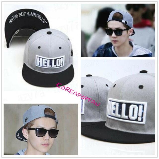 EXO luhan LU HAN exologo sewn Snapback Cap Hat KPOP NEW exodus from planet