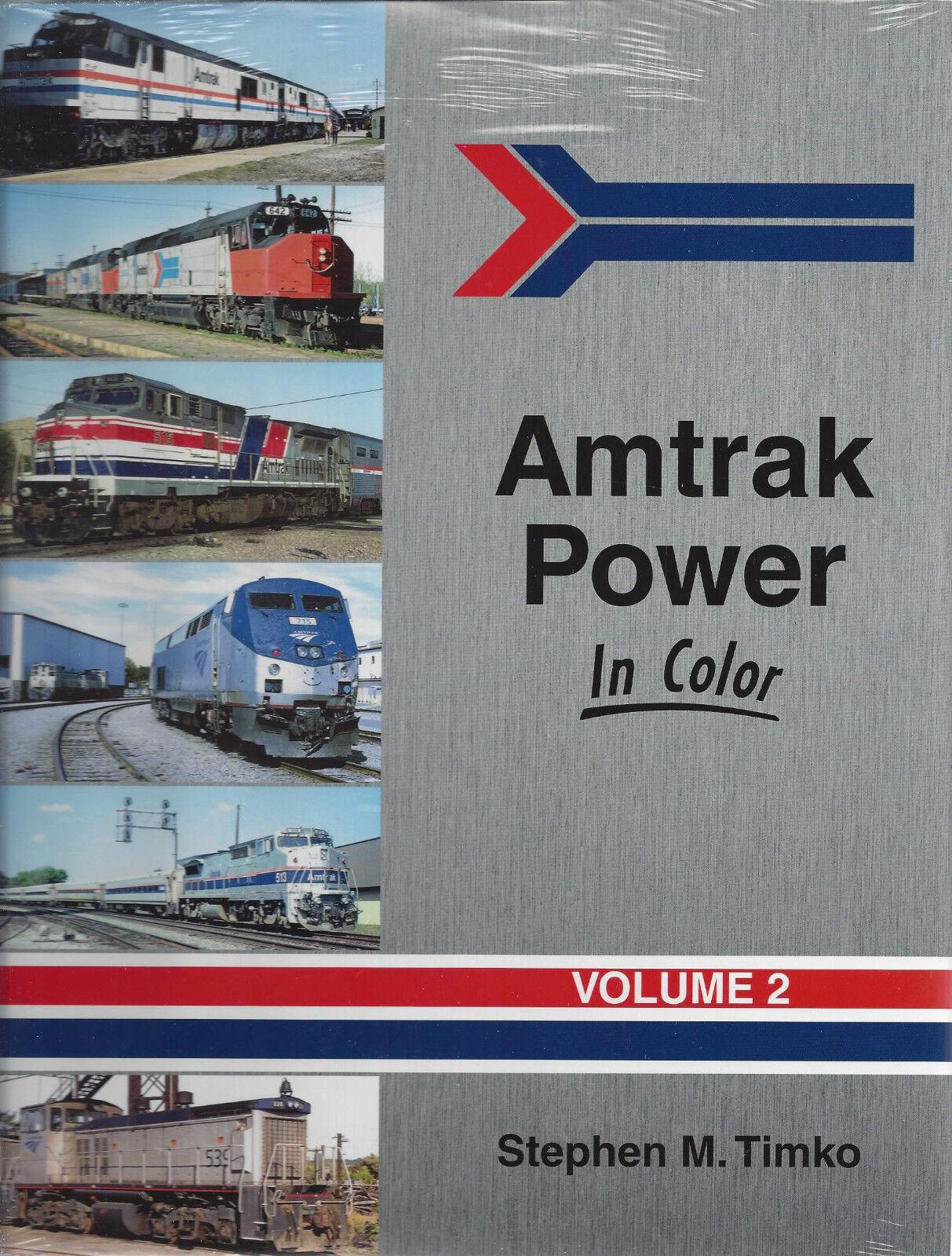 Amtrak Potenza in Colore, Vol. 2: Diesel  500 & Upward  Nuovo Libro