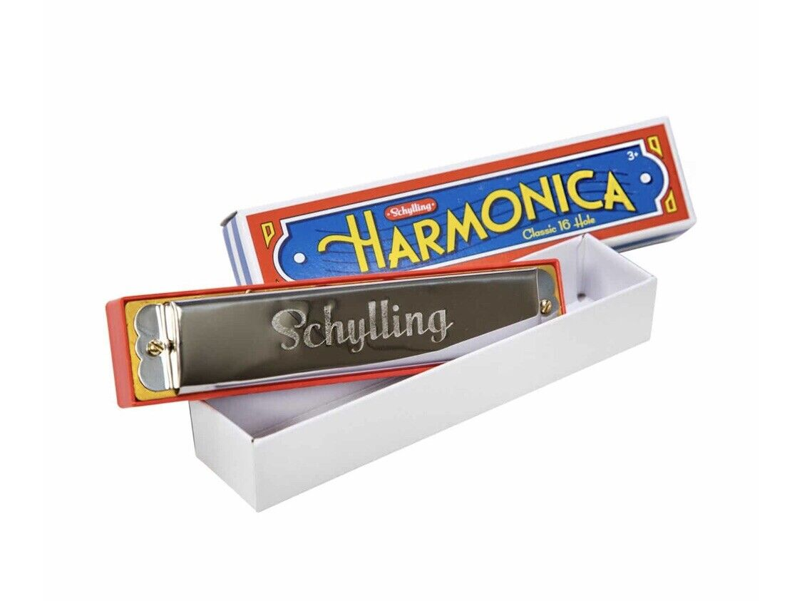 Harmonica 16 Holes Key of C Lets Play Music