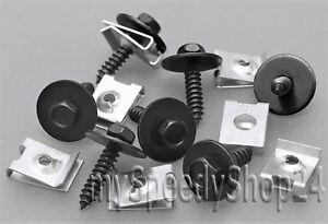 20x-Blechmutter-Schrauben-Unterlegscheiben-Radhausschale-Radkasten-Clip-BMW-MINI