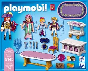 PLAYMOBIL -5145 - CHATEAU PRINCESSE - SALLE A MANGER ROYALE ...