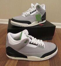 online store cf680 95d47 Nike Air Jordan 3 Retro Size 11.5 Light Smoke Grey Chlorophyll 136064 006  NIB