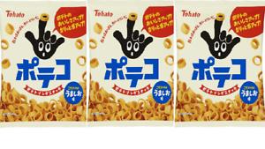 Tohato-Poteko-Poteco-Potato-ring-snack-salt-flavor-78g-3pcs-Japan