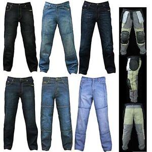 herren motorrad jeans hosen mit schutzverkleidung und. Black Bedroom Furniture Sets. Home Design Ideas