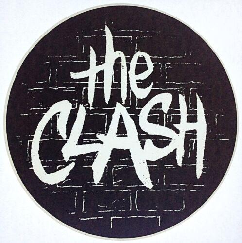 Original Vintage The Clash Iron On Transfer Music Band