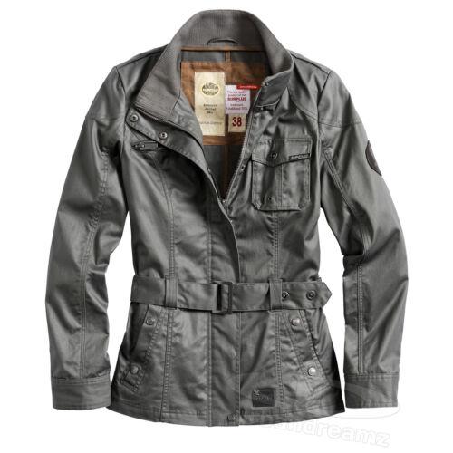 Outdoor Function Herren Damen Surplus Vintage Jacke Military Trench Raw Coat ™ xnwnXU