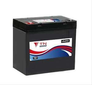TN Power 12V 54Ah Lithium Batterie pour Loisir Mobilité Golf Caravane