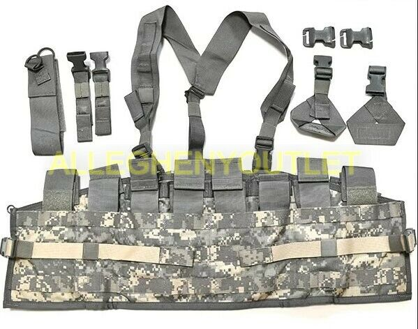 USGI MOLLE Chest Rig Tactical Assault Panel (TAP) Complete System  ACU NIB  choose your favorite