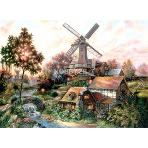 Jigsaw Puzzle 1000 Windmill Forest of Klaus Strubel by KOREA Kyerim 1023