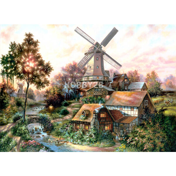 Jigsaw Puzzle 1000 Windmill Forest of Klaus Strubel by KOREA Kyerim 1023
