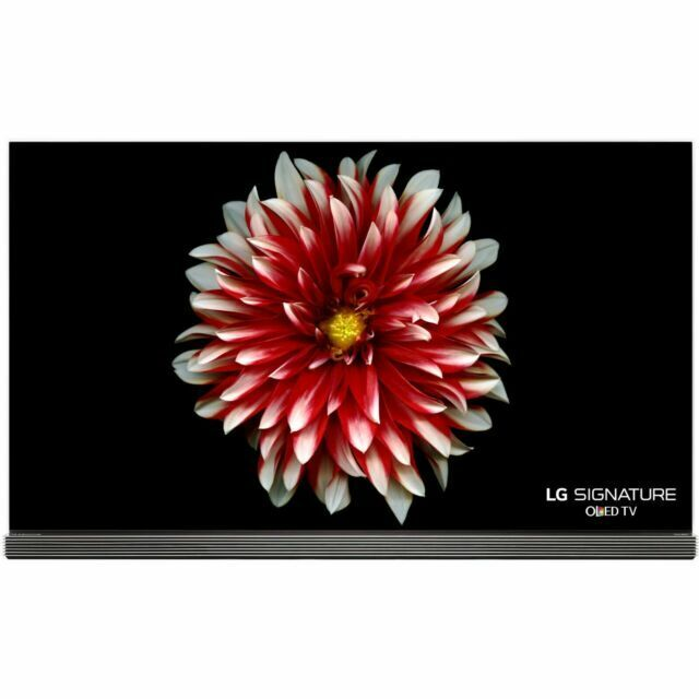 LG Signature Series OLED65G7P 65 2160p OLED Internet TV W/ LG ORIGINAL REMOTE. Available Now for 1350.00
